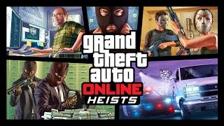 Grand Theft Auto Online Heists Unveiled: Preview, Trailer & Screenshots