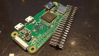 How To Solder Header Pins To The Raspberry Pi Zero (W)
