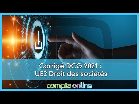 Corrigés du DCG 2021 à télécharger