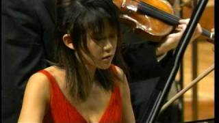 Yuja Wang / Rachmaninoff : Rhapsody on a Theme of Paganini(Dutoit/NHKso) 2/4