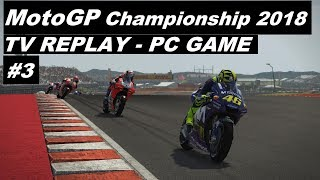 MotoGP 2018 | 3# GP OF THE AMERICAS | TV REPLAY 50% | PC GAME MOD 2018