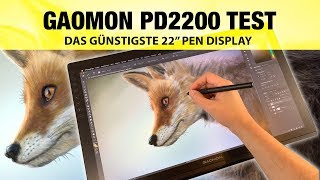 Pen Display günstig: Gaomon PD 2200 im Test / Review