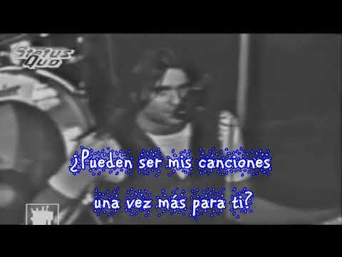Status Quo-Claudie SUBTITULOS en Español Neza-Rock