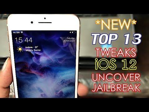 TOP iOS 12 JAILBREAK Tweaks die ICH total super finde :) uncOver