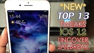 Top 20 New Cydia Tweaks YOU HAVEN'T SEEN BEFORE iOS 12-12 1