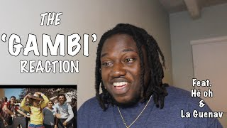 THE GAMBI REACTION Feat. HÉ OH & LA GUENAV | FRENCH RAP REACTION