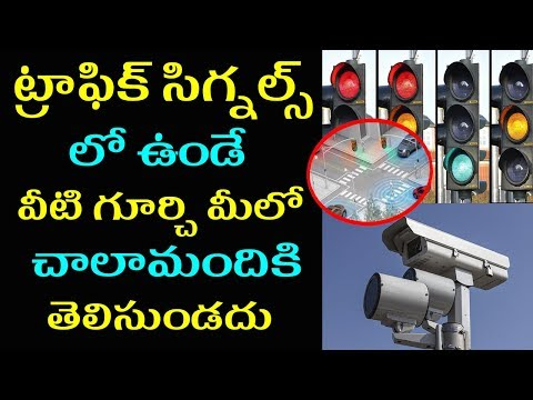 Amazing Facts About Traffic Signals You Dont Know | Unknown Facts in Telugu