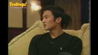 Nicholas Tse (謝霆鋒) - Fandango Interview Part 1