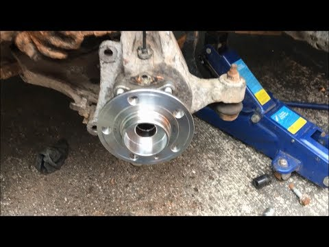 How to Replace Volvo V70/S60/S80 (1999-2007) Front Wheel Bearing
