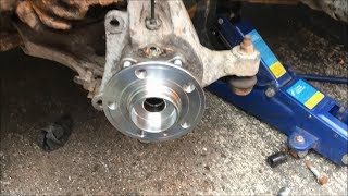 How To Replace Volvo V70S60S80 (1999 2007) Front Wheel Bearing