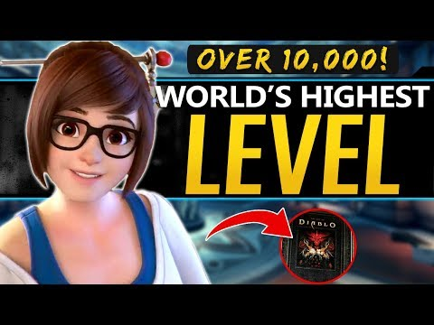 Overwatch World's Highest Level over 10,000! Plus Diablo 4 leaks Confirmed and Project A
