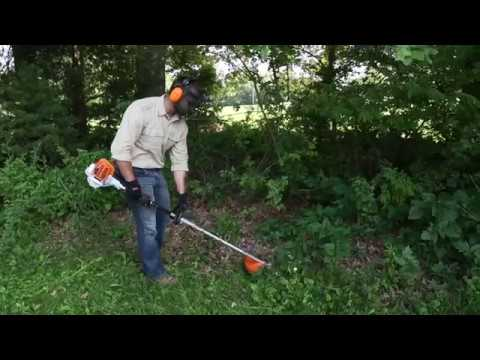 Stihl KM 56 RC-E in Mio, Michigan - Video 1