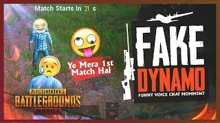 PUBG MOBILE | FAKE DYNAMO IS HERE | FIRST TIME PLAYING PUBG MOBILE 😂 🤣