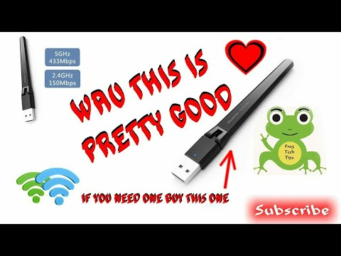 Dual Band USB WiFi Dongle Adapter AC600 Review