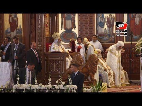 البابا تواضروس يترأس قداس عيد القيامة بالكاتدرائية