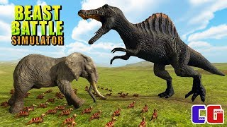 ЭПИЧЕСКИЕ БИТВЫ ЖИВОТНЫХ! Мульт игра СИМУЛЯТОР БОЕВЫХ ЗВЕРЕЙ Beast Battle Simulator