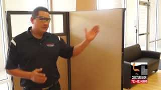 Cubicle Instalation Demostration Instructional Video