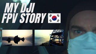 MY DJI FPV STORY - DANYANG - KOREA VLOG 2021 #DJIFPV #DANYANG #KOREA #VLOG
