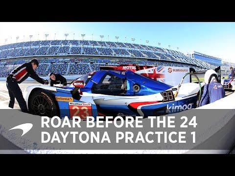 2018 Daytona 24 Practice: Day 1