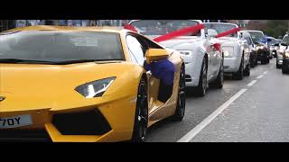 Imran Anwar - Wedding in Copenhagen [Lamborghini & Rolls Royce]