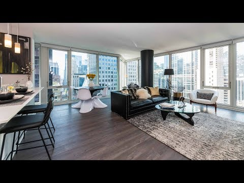 A spacious 2-bedroom, 2-bath at the Loop's Marquee at Block 37