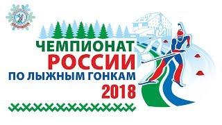 Чемпионат России по лыжным гонкам 2018 года.Эстафета. Мужчины. 4*10 км.