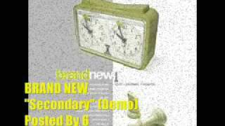 Brand New - Secondary (For The Worse) - First Demo
