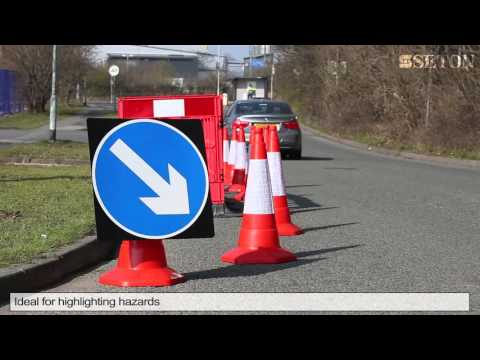 Sand Weighted Traffic Cone Orange | Seton UK