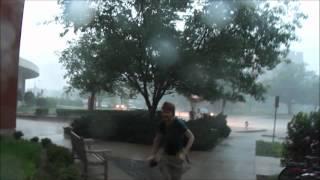 Norman/OU Tornado Warning Friday April 13 2012