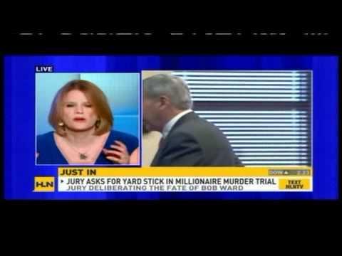Meg Strickler on HLN discussing Bob Ward murder case on 9/23/11