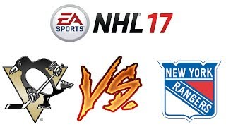 NHL 17 - Ranked Online Versus #7 - ANOTHER RAGE QUIT - Video Youtube