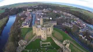 Visit to Warkworth Castle - Northumberland.