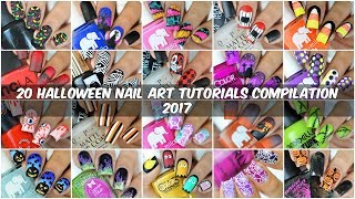 Best Halloween Nail Art Ideas 2017 | 20 Halloween Nail Tutorials