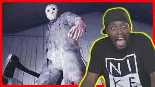 THE WORST HIDING PLACE EVER!! - Friday The 13th Gameplay Ep.2