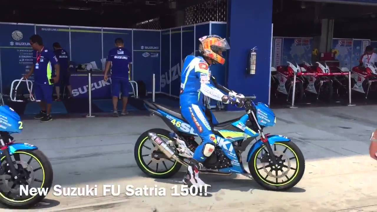 Video Suzuki Asian Challenge Satria F Injeksi Thailand 2016 All New F150