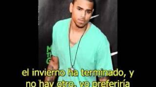Chris Brown - First Day of Spring (Subtitulado en español)