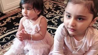 Beautiful Children Listing To Shukar Dateya Tera Sukar Dateya Satnam Waheguru Sahej & Anjali