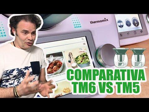 Comparativa: Thermomix TM6 vs TM5 ¿Merece la pena?