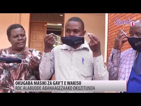 RDC alabudde abanaagezaako okutunda mask za gavumenti