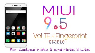 Stable CoolUI 8 V3 for Coolpad Note 3 Lite  || Most Stable