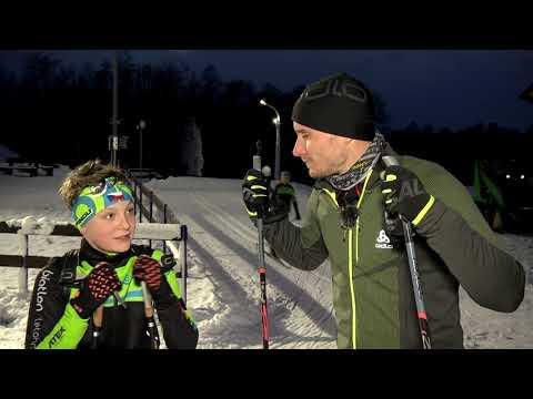 Biatlon s Vítkem Přindišem