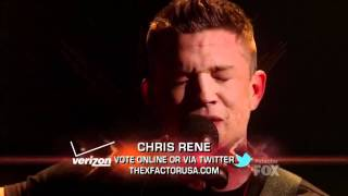 Chris Rene Live Shows TOP 5 - 'Where do we go from here' - X-Factor USA 2011 + DOWNLOAD LINK