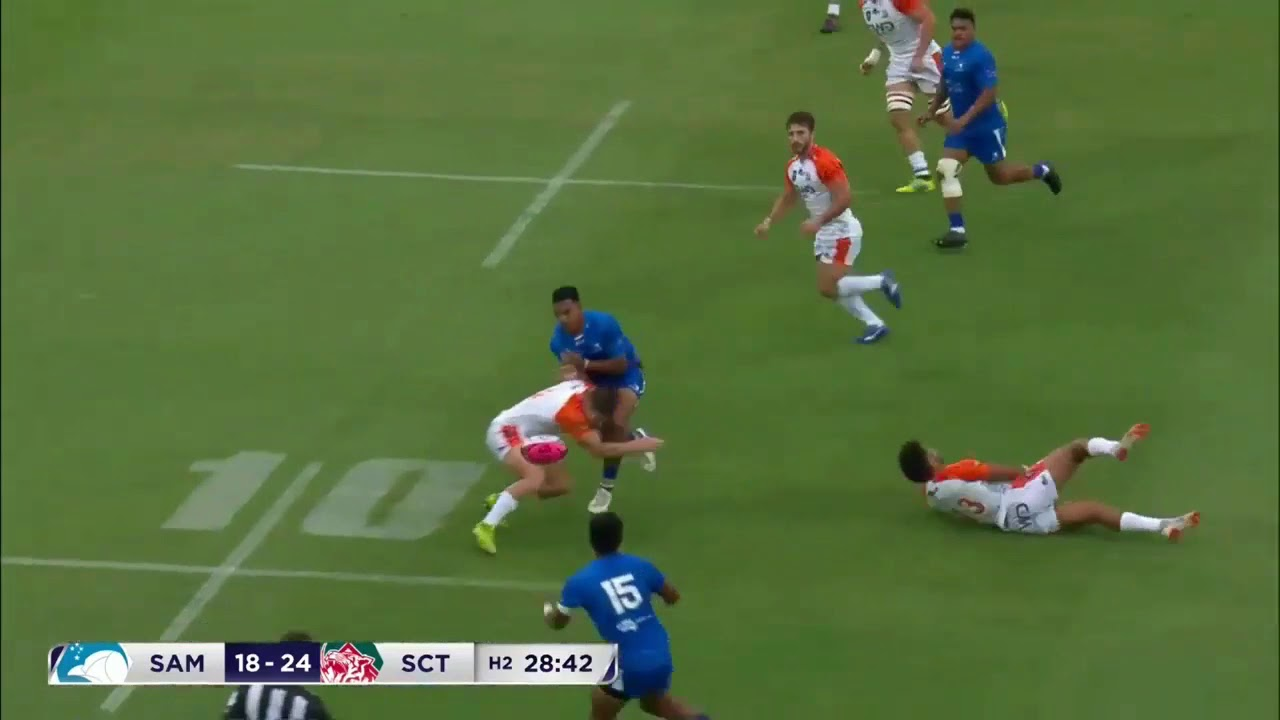 Manuma Samoa v South China Tigers – Round 1 Highlights