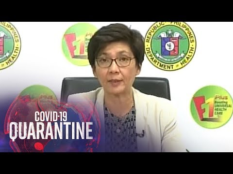 [ABS-CBN]  Department of Health gives COVID-19 updates (22 April 2020)   ABS-CBN News