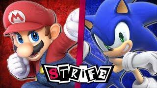 Mario VS Sonic | STRIFE!!