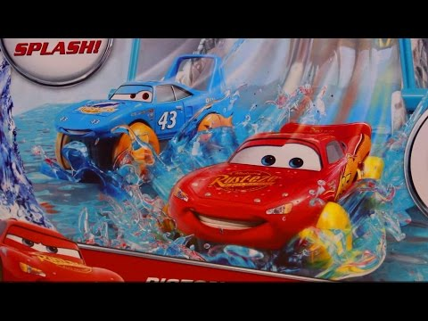 Disney Pixar Cars Collossus XXL Dump Truck & Piston Cup Lightning McQueen And Disney Planes Ryker