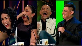 Un divertido imitador de Luis Miguel puso de cabeza el set de Yo Soy