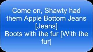 apple bottom jeans lyrics hd