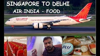 air india boeing 787-8 economy class - TH-Clip