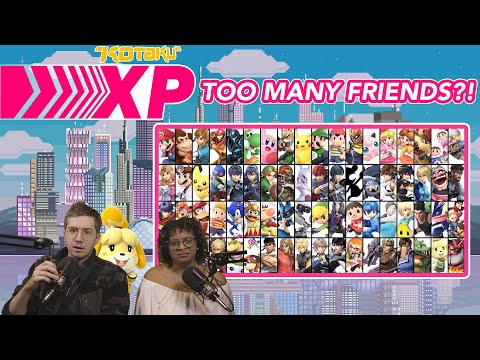 Kotaku XP Is Overwhelmed By Smash Ultimate's Roster